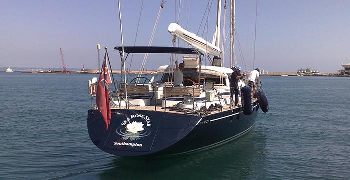 S/Y Sea Rose Star yacht testimonial